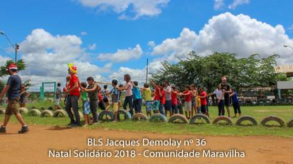 Loja Jacques Demolay nº 36 leva o Natal Solidário à Comunidade Maravilha no Rio Madeira.