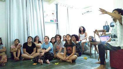 Bethel 01 - Lírios do Madeira continua com atividades de terapia em grupo!