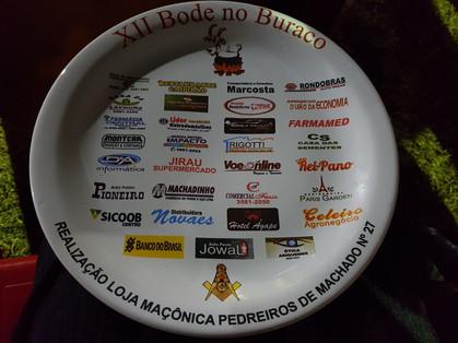 XII BODE NO BURACO 2017 da Loja Pedreiros de Machado n° 27