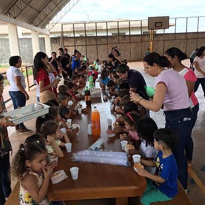 Loja Thêmis & Ágora nº 20 - Festa das Crianças.