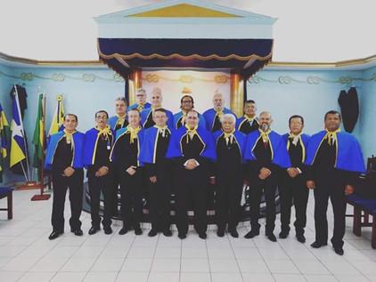 Posse na Academia Maçônica de Letras de Rondônia, em sessão conjunta com a BLS Geraldo Lima nº 24 -