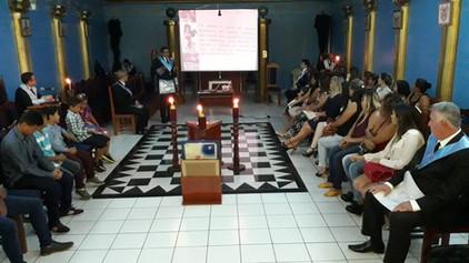 São João 33 realiza sessão alusiva ao Dia Internacional da Mulher.