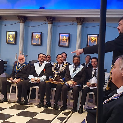 """Palestra """"Evasão Maçônica"""" - Irmão Cassiano Moraes!"""