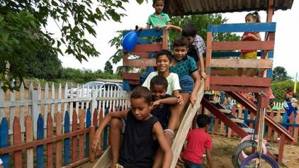 GBLS Estrela da Fraternidade nº 15 e Cap. Filhos da Estrela nº 398 promovem festa para crianças do d