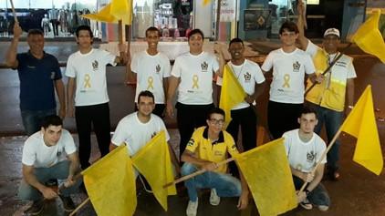 Capitulo Filhos da Estrela nº398 participa de blitz explicativa em conjunto com o GENTRAN-Jaru.