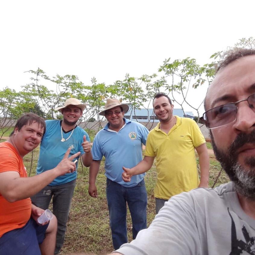 Ir Flávio. William Dias. Tadeu. Fábio e Joaquim.