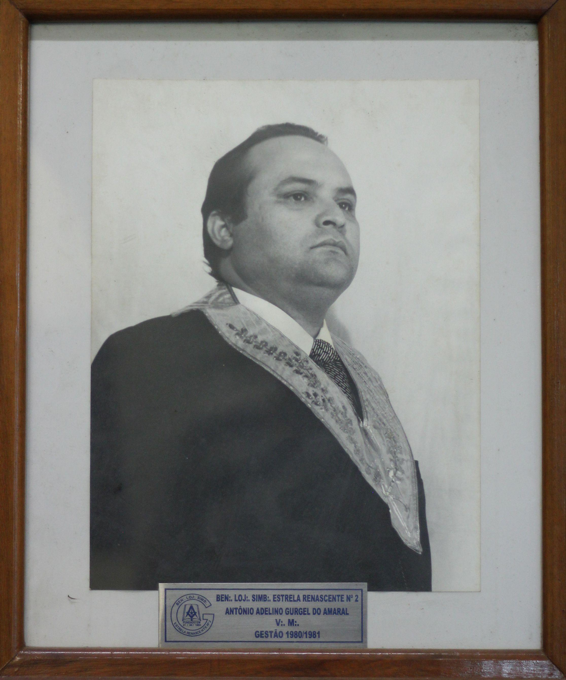 Antônio A Gurgel do Amaral - 80/83
