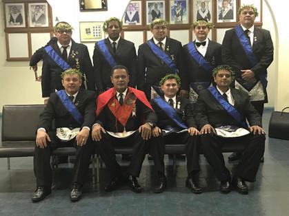 Loja de Perfeição VICTOR ARANTES inicia 16 novos Mestres.