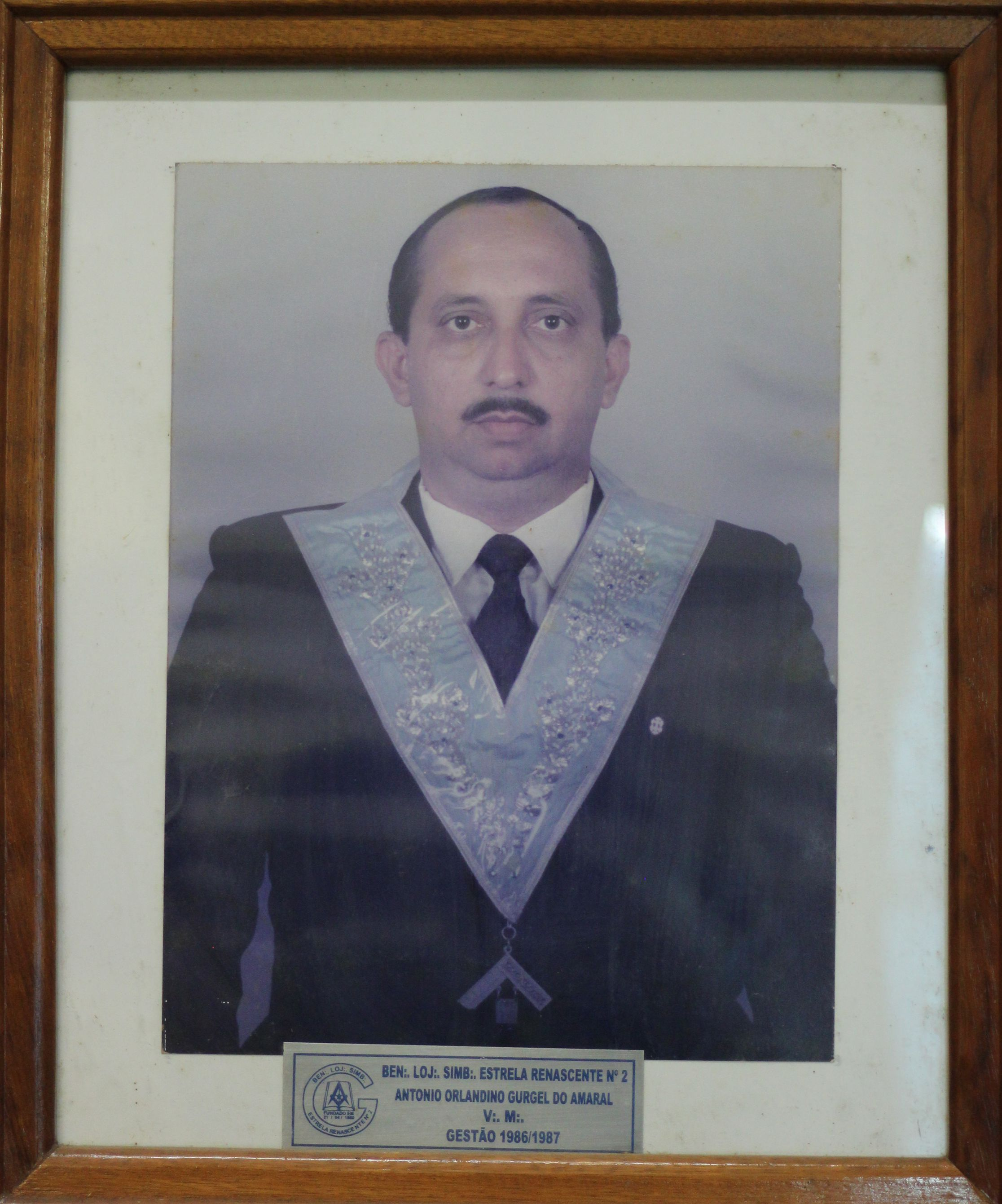 Antonio O Gurgel do Amaral  - 86/87