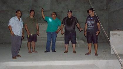 Em visita ao Oriente de Urupá - RO, o SGM vistoria obras da ARLSCyrillo Carvalho Neves n° 40.