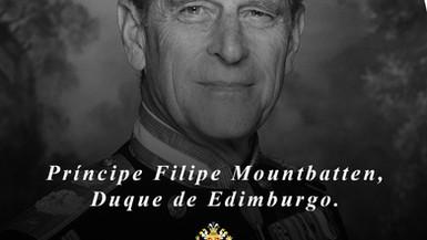 Nota de Pesar/Weighing Note: Principe Philip Mountbatten
