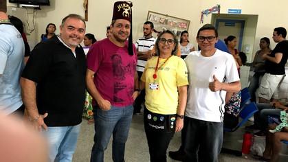 Clube Shrine Madeira Mamoré apoia Operação Sorriso Brasil.