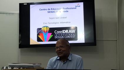 Com apoio do SENAC, Família Maçônica recebe treinamento em Corel Draw em Porto Velho - RO.