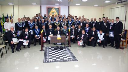 Um grande sucesso o III Encontro Estadual do Rito de York realizado em Porto Velho.