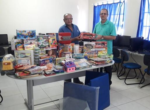 Glomaron adquire materiaislúdicos para instrumentalizar a APAE, unidade de Porto Velho - RO.