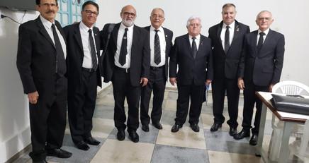 SGM visita loja Branca Dias em João Pessoa apresentando MI Maciel da EF 15 de Jarú.