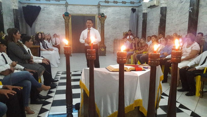 Capitulo Luciano de Assis Nº118 inicia 8 novos jovens na Ordem Demolay em Ariquemes - RO.