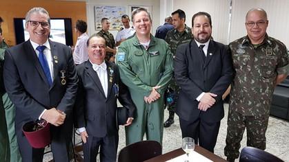Irmão Major Aviador Romulo Amaral, assume Comando do 2º/8º GAV.