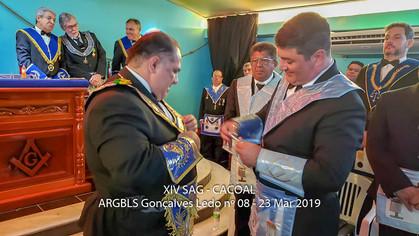 XIV SAG realizada pela Glomaron na Loja Gonçalves Ledo nº 08 - Cacoal/RO.