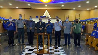 SGM visita Grande Oriente do Paraná e Grandes Lojas do Paraná e de São Paulo.