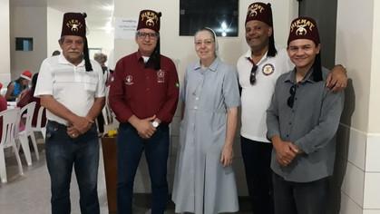 Clube Shriner Madeira-Mamoré apoiando a Operação Sorriso no Hospital Santa Marcelina em Porto Velho