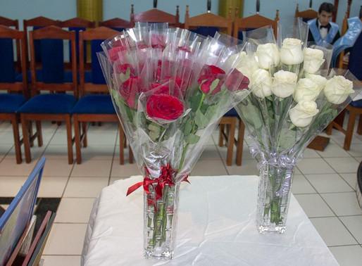 Sábado de alegria na BLS de São João nº 33 homenageando todas as mães.