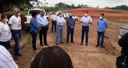 Lançamento das obras do Centro de prevenção e diagnóstico de Câncer do Hospital do AMOR em Ji-Paraná