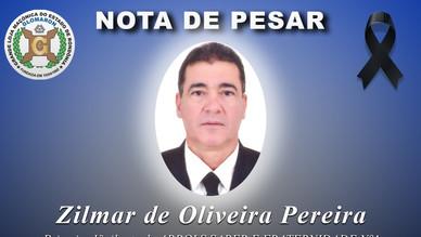 Nota de Pesar: Ir. Zilmar de Oliveira Pereira.
