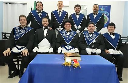 Sessão Magna de Filiação do Irmão Marcelo Gavlik.