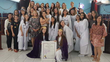 Bethel Imperatriz Leopoldina nº 07recebe Carta Constitutiva em Cacoal.