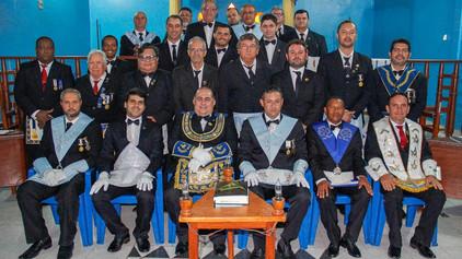 Grão-Mestre prestigia Sessão de Iniciação na GBLS Estrela do Guaporé N° 16 em Costa Marques - RO.