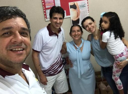 Loja de São João nº 33, utiliza o Tronco de Solidariedade para apoiar a Casa Mãe e Bebê em Porto Vel