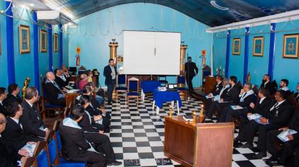 Palestra na Estrela Renascente nº 02, com o Professor  João Paulo da Unir.