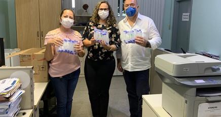 GLOMARON faz doação de Tubos Coletores Tipo Falcon para o Laboratório Central de Rondônia- LACEN.