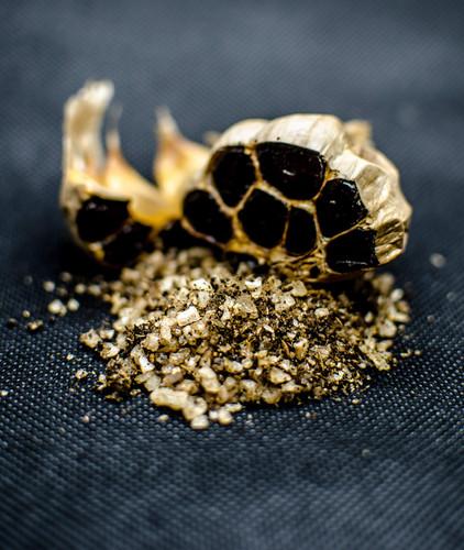 Black Garlic Sea Salt