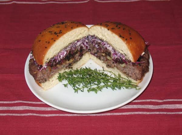 Ribeye Black Garlic Burger