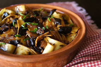 Black Garlic Pappardelle Pasta Recipe.jp