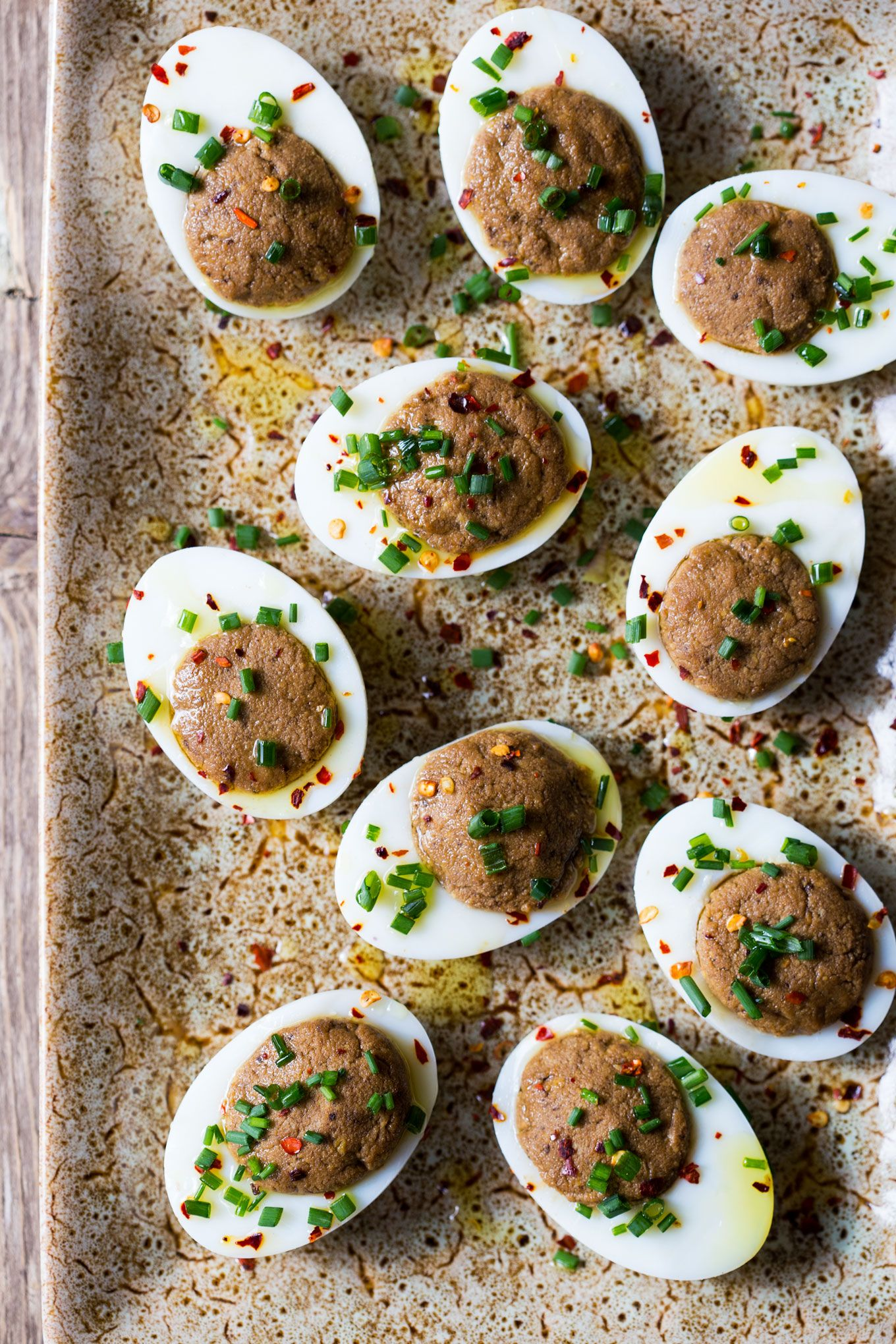 Black-Garlic-Deviled-Eggs