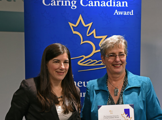 Governor General's Caring Canadian Award