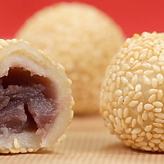 Sesame Balls with Red Bean Paste