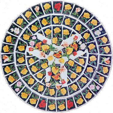 Mandala in Roses