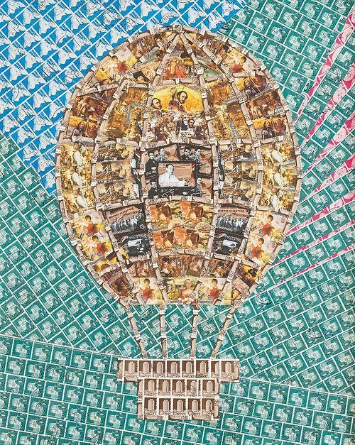 15_Történelmi léghajó_Ballon of history.