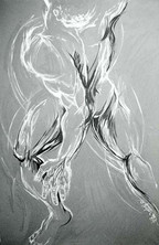 Dancer in Gray
