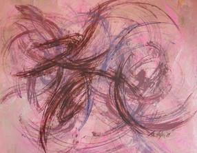 Pink Abstract #18