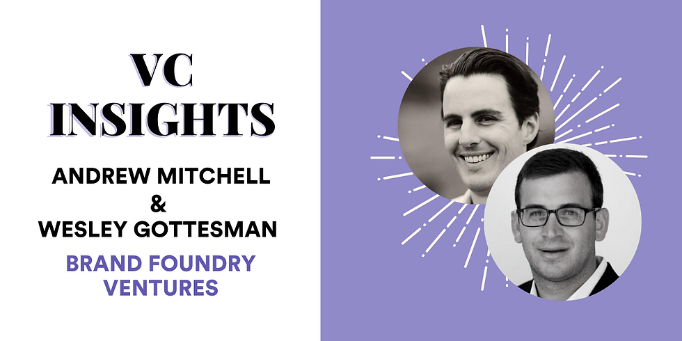 VC Insights: Brand Foundry Ventures