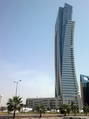 Al Jawharah Tower in Jeddah Corniche, K.S.A. (2nd tallest tower in Jeddah),