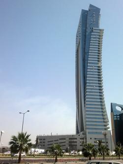 Al Jawharah Tower in Jeddah Corniche, K.S.A. (2nd tallest tower in Jeddah),