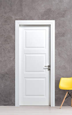 Internal panelled lacquer door