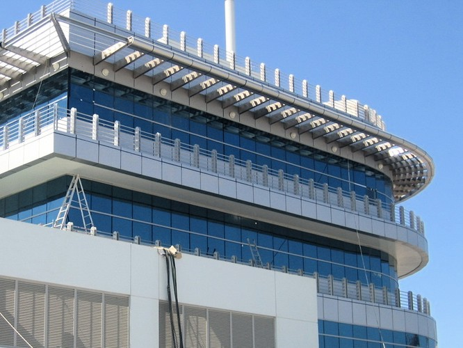 Dubai Maritime City Control Building, Dubai, U.A.E.