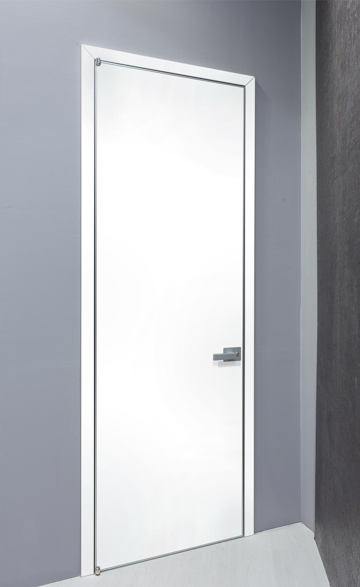 INTERNAL DOOR MINIMAL WITH ALUMINUM FRAME & LACQUER